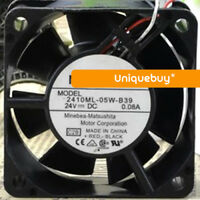 2410ML-05W-B39 for NMB 24V Detection and alarm function cooling fan