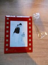 Bilderrahmen aus Glas Maße 13,5 x 17,8 cm mit Aufsteller aus Metall