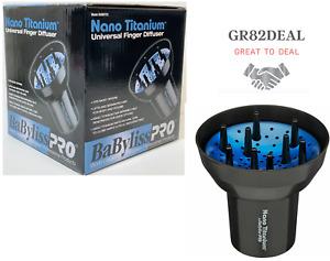 BaByliss Nano Titanium™ Universal Finger Diffuser Fits Most Dryers NEW