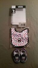 New VANS Classic Slip-On Infant Crib Set ~ Shoes And Bib