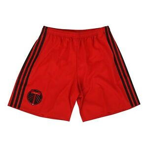 Portland Timbers MLS Adidas Men's Adizero Dark Red Authentic Team Shorts
