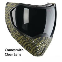 Empire EVS Thermal Paintball Mask Goggles - Clear Lens - LE Olive Tiger Stripe
