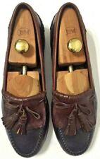 Johnston & Murphy Passport Kiltie Tassel Loafers Shoes Black Mens Size 10.5M