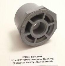 "IPEX / CORZAN 2"" x 3/4"" CPVC Reducer Bushing (Spigot x FNPT) - Schedule 80 -"