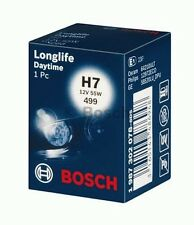 P 2 x BOSCH 1987302078 H7 12V 55W LONGLIFE DAYTIME Halogen Lamp Light PX26d