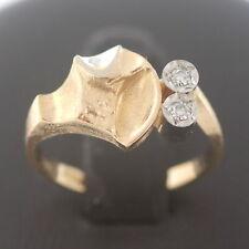 Diamant Lapponia Ring 750 Gold 18 Kt Bicolor