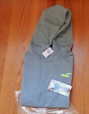 NWT Hollister Sport Hoodie Jacket Gray Medium By Abercrombie