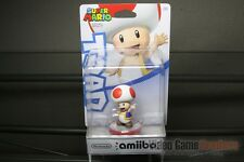 Super Mario Toad Amiibo First Print Official US Release - NEW & SEALED!