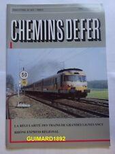 Chemins de fer n°431 mars 1995 revue de l'Afac Passages à niveau Petite Ceinture