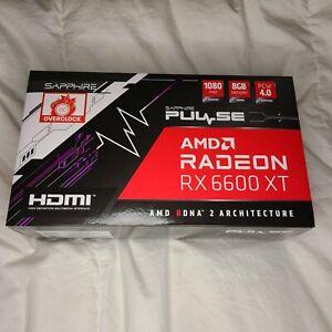 *NEW* SAPPHIRE PULSE AMD Radeon RX 6600 XT GDDR6 8GB GPU 🚚 FREE SHIP
