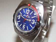 VOSTOK WATCH AMPHIBIAN MAN RUSSIAN Military AMPHIBIA AUTO DIVER 090914