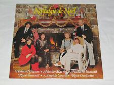 NOSTALGIE DE NOEL LP NEW SEALED Quebec Christmas Nathalie Rene Simard Gignac+