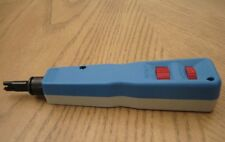 66 & 110 Adjustable Impact Punch Down Tool with Blade Network LAN RJ45 Blue NEW