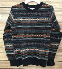 Est. 1989 Place Nordic Blue Christmas Holiday Boys Sweater Size M (7-8)