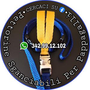 Pettorina SGANCIABILE x Pappagalli 120-199gr - Filo staccabile