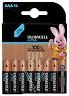 Duracell Ultra Batterie AAA Micro LR03 MX2400, 16er Pack