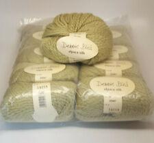 Full Bag of 10 Matched Skeins Debbie Bliss Yarn - Alpaca Silk - 25007 Apple