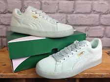 PUMA LADIES UK 3 LIGHT GREEN SUEDE MONO ICE TRAINERS RRP £55