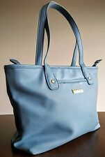 Marc Fisher Day by Day Small Shopper Handbag Tote Blue