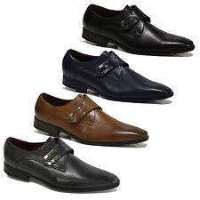 Runde Herren-Business-Schuhe aus Kunstleder als Slipper