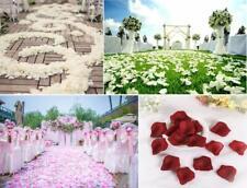 2000/1000pcs Silk Rose Petals Artificial Flower Petal Wedding Party Decoration