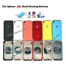 Back Housing Glass Battery Cover Frame Assembly Replacement For iPhone XR