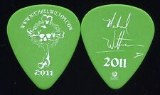 QUEENSRYCHE 2011 Chaos Tour Guitar Pick!!! MICHAEL WILTON custom concert stage