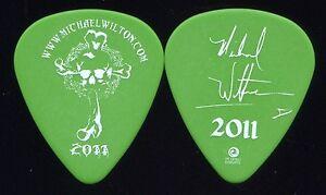 QUEENSRYCHE 2011 Chaos Tour Guitar Pick!!! MICHAEL WILTON custom concert stage