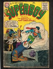 Superboy #46 ~ Feat: Battle of Fort Smallville ~ 1956 (2.5) WH