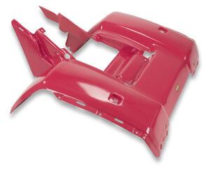 NEW HONDA TRX250 FOURTRAX REAR PLASTIC FENDER RED