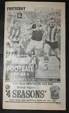 1966 Football Record Footscray vs Richmond Footy Record 23 July