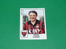 PANINI FOOTBALL FOOT 90 N°244 P ALONZO OGC NICE OGCN NISSA RAY AIGLONS 1989-1990