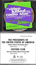 ★ MAXI CD CULTURE CLUB - THE PRESIDENTS OF THE UNITED STATES OF AMERICA PROMO  ★