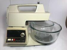 1970's Vintage 12 Speed Oster Regency Kitchen Center Food Processor Mixer