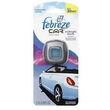 Febreze Car Vent Clip Air Freshener, Midnight Storm 1 ea (Pack of 4)