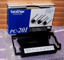 Genuine Brother PC-201 Printing Cartridges For MFC & FAX - New Other