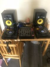 More details for pair of pioneer cdj 900's and djm 600 with flight case