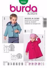Burda Coat/Jacket Sewing Patterns