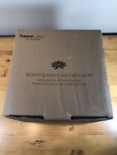 New In Box Tupper Living By Tupperware Blooming Teapot Soy Melt Burner Aroma