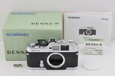 Voigtlander BESSA R 35mm Rangefinder Film Camera Body Silver with Box #170213b