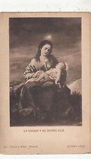 BF33972 la virgen y su divino hijo alonso cano  painting art front/back scan