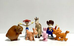 Toy Story Round up Rare Figures Stinky Pete Bulleye Jessie Critter rabbit bear