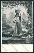 Palermo Costumi Siciliani cartolina QQ0907