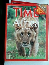 TIME MAGAZINE AFRICA AN ESSAY FEBRUARY 23 1987 2/23/87 ~ GREAT 80s ADDS NO LABEL