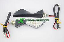 Frecce moto a LED universali Yamaha Honda Ducati Suzuki Kawasaki Ktm Buell 029BK