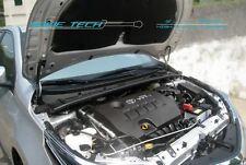 Black Strut Hood Shock Lift Gas Damper Kit for 14-16 Toyota Corolla / Altis