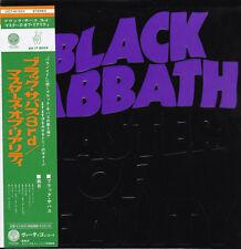 BLACK SABBATH MASTER OF. RARE JAPAN MINI LP SHM 2 CD DELUXE SET OOP
