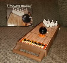 Vintage 1980s Tomy Strolling Bowling Wind Up Table Top Game 7071 in ORIGINAL Box