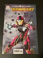 Ironheart #1 1:10 Luciano Vecchio Variant High Grade! Marvel 2018 NM