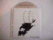 UNDERGROUND RAILROAD : STICKS AND STONES [ CD SINGLE ] ~ PORT GRATUIT !